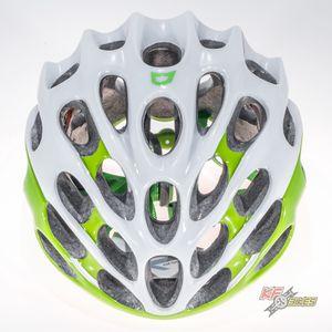 capacete-branco-com-verde-catlike-mixino-para-bicicleta