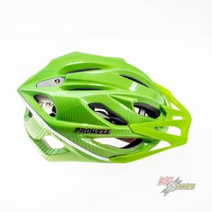 capacete-f-6000-prowell-verde-para-ciclista-mtb