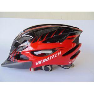capacete-de-ciclista-com-viseira-vicini-elite-s-preto-com-vermelho