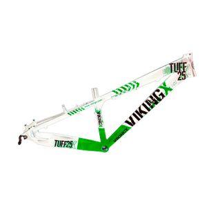 quadro-viking-freeride-tuff-25-branco-com-verde
