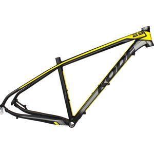 quadro-para-bike-29-marca-kode-top-29-preto-cinze-amarelo-cabeamento-interno