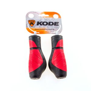 punho-para-bicicleta-kode-preto-com-vermelho-kode