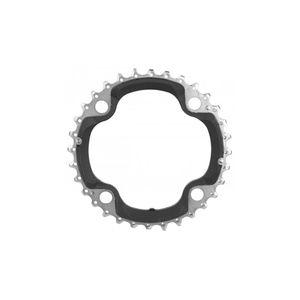 coroa-shimano-slx-m-660-preto-com-prata-para-10-velocidades