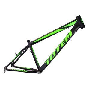 quadro-totem-blitz-preto-com-verde-aro-26-para-mtb