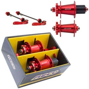 cubo-oggi-para-bicicleta-com-sistema-cassete-vermeho-rolamentado