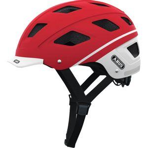 capacete-abus-hyban-label-urban-vermelho-para-bike