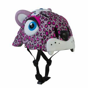 capacete-crazy-safety-infantil-com-desenho-de-leopardo-3d-inmold