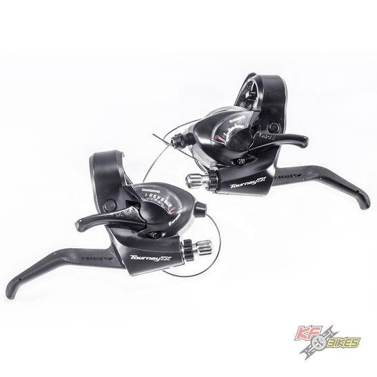 trocador-ez-fire-shimano-tx-800-tourney-preto-8-velocidades