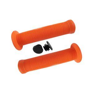 punho-para-bicicleta-manopla-com-flange-135mm-laranja-g-105