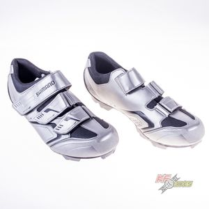 sapatilha-shimano-xc-30-para-mtb-prata-com-velcro