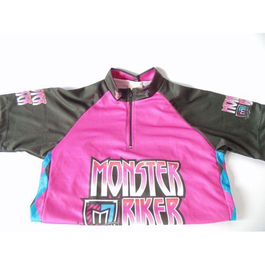 camisa-infanto-juvenil-para-bicicleta-barbedo-rosa-e-preto