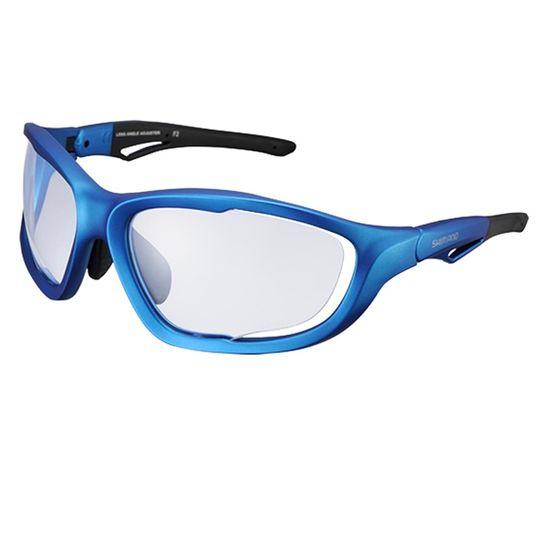 3f4ce2a4eafd1 Óculos Shimano CE-S60X-PH Azul com lente fotocromática - kfbikes