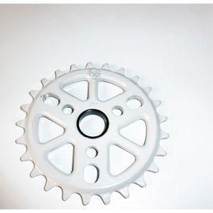 coroa-bmx-25-dentes-hoffman-branca-aluminio-7075