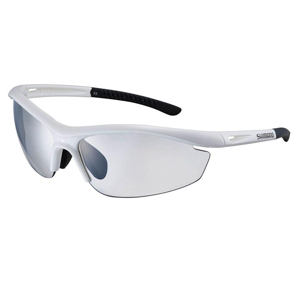 41990185b239f Óculos Shimano CE S20R-PH branco com lente fotocromática - kfbikes