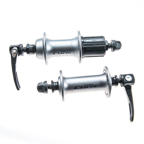 cubos-shimano-claris-36-furos-prata-par-2400