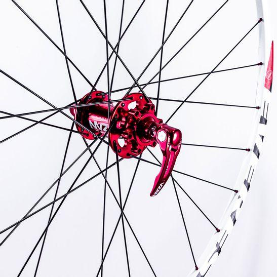 roda-para-bike-vzan-everest-mgc-branca-com-cubo-vermelho-rolamentado-original-top-e-leve