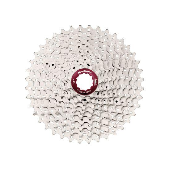 cassete-sun-race-csmx3-10-velocidades-cromado-11-40-dentes-com-detalhes-anodizados-para-bicicleta