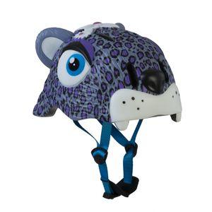 capacete-infantil-inmold-seguro-crazy-safety-leopardo-roxo-3d