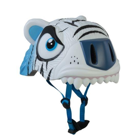 capacete-crazy-safety-infanto-juvenil-tiger-white-3d-inmold