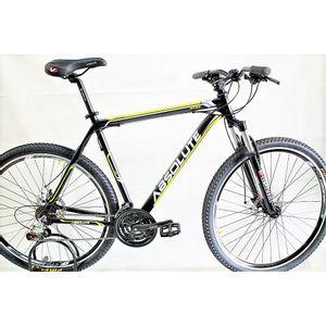 bicicleta-aro-29-tamanho-23-preta-com-amarelo