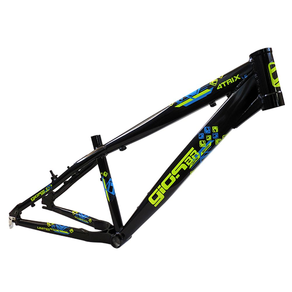 Quadro de Wheeling Gios 4 Trix LE pto/amarelo - kfbikes