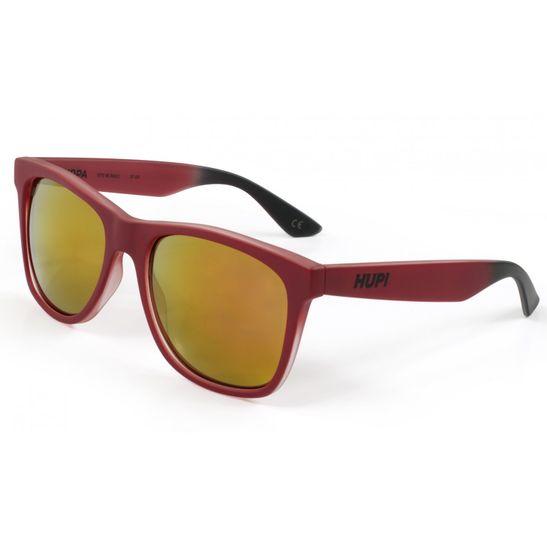 oculos-de-sol-hupi-luppa-vermelho-fosco-com-lentes-vermelhas-espelhadas