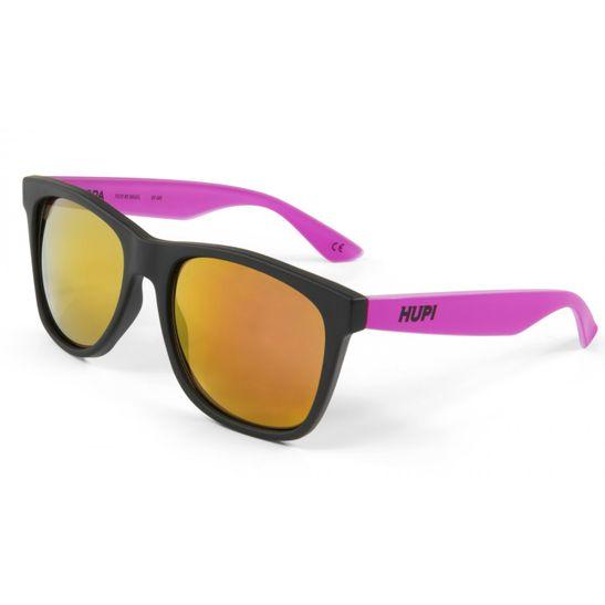 oculos-de-sol-armacao-preta-e-rosa-pink-com-lentes-vermelhas-e-espelhadas