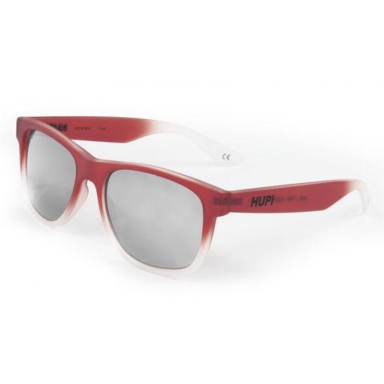 oculos-de-sol-marca-hupi-modelo-brile-com-aramacao-na-cor-vermelho-e-cristal-transparente-e-lente-prata-espelhada