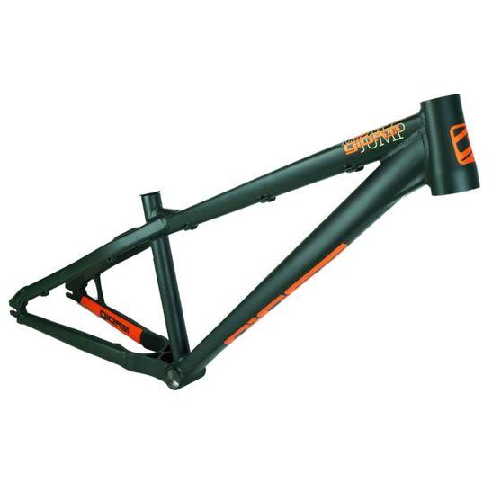 quadro-marca-gios-br-modelo-dj-dirt-jump-na-cor-verde-e-laranja-horizontal