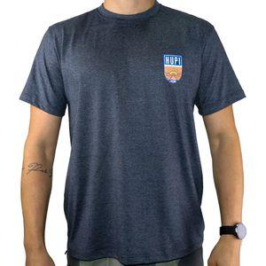 camiseta-marca-hupi-modelo-sun-na-cor-cinza-mescla-com-estampa-pequena-colorida-no-peito
