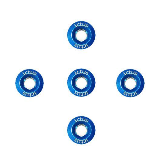 kit-com-5-parafusos-em-aluminio-da-marca-ictus-para-coroa-de-pedivela-freeride-mtb-speed-gravel