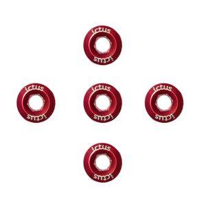5-parafusos-em-aluminio-vermelhos-da-marca-ictus-para-coroa-de-pedivela-