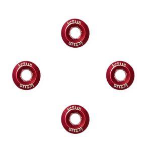 4-parafusos-para-coroa-de-pedivela-da-marca-ictus-na-cor-vermelho-metalico-leves