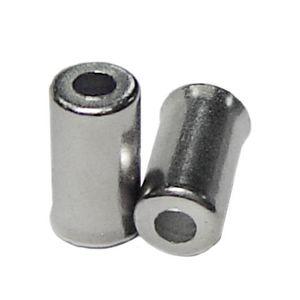 100-pecas-de-terminal-para-conduite-de-freio-prata-em-inox