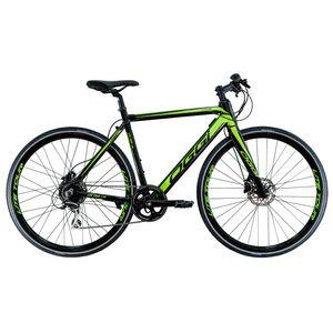 bicicleta-eletrica-marca-oggi-modelo-lite-tour-e-500-para-uso-urbano-com-aro-700-e-componentes-shimano-na-cor-preto-com-verde