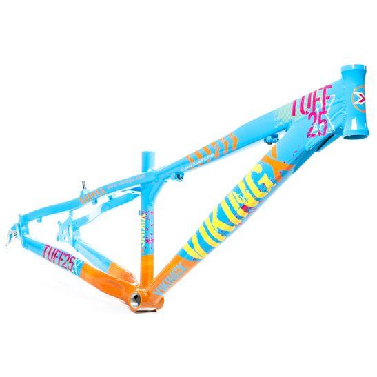 quadro-aro-26-vikingx-tuff-25-freeride-dj-dirt-jump-azul-e-laranja-em-aluminio