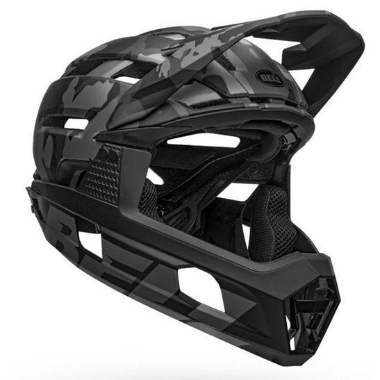 capacete-down-hill-super-air-marca-bell-mips-camuflado-camo-com-entradas-de-ar