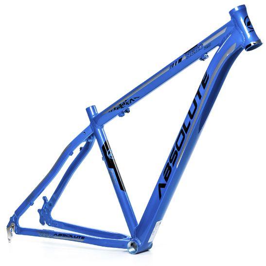 quadro-de-bicicleta-mountain-bike-mtb-aro-29--marca-absolute-modelo-nero-iii-na-cor-azul-metalico-com-detalhes-e-grafismo-preto