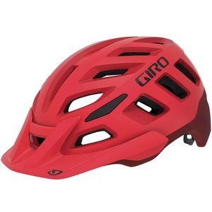 capacete-giro-radix-vermelho-com-preto-com-viseira-ajustavel-roc-loc-5.5-mtb-mountain-bike-top