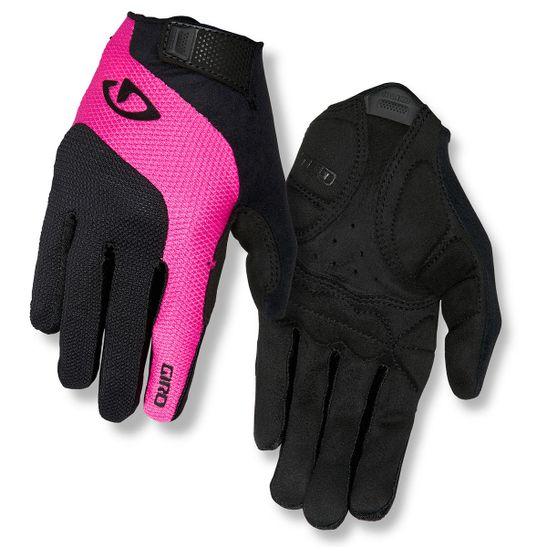 luva-para-ciclismo-giro-tessa-fechada-para-inverno-preto-com-rosa-com-gel-polegar-atoalhado-ax-suede