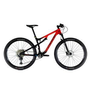 bicicleta-oggi-catturra-full-suspension-deore-12v-manitou-machete-comp-mtb-mountain-bike-preto-com-vermelho-fosco-top