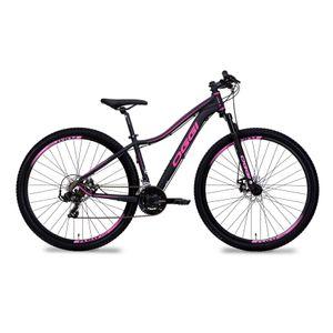 mtb-mountain-bike-feminina-oggi-float-sport-preto-com-rosa-21v-21-marchas-suspensao-e-quadro-com-garantia-vitalicia