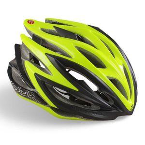 capacete-spiuk-dharma-para-bicicleta-speed-road-mtb-mountain-bike-verde-com-preto-top