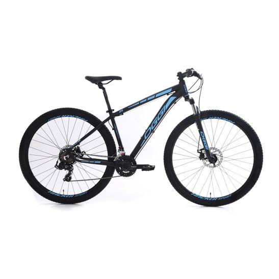 bicicleta-mountain-bike-mtb-oggi-hacker-sport-21-marchas-7-velocidades-com-suspensao-aro-29-preto-com-azul