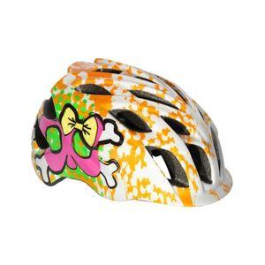 capacete-infantil-kali-modelo-chakra-dots-branco-com-laranja-feminino-com-regulagem-de-qualide
