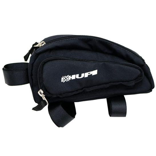 bolsa-para-bicicleta-com-3-bolsos-hupi-com-velcro-com-divisorias-preto-modelo-travel