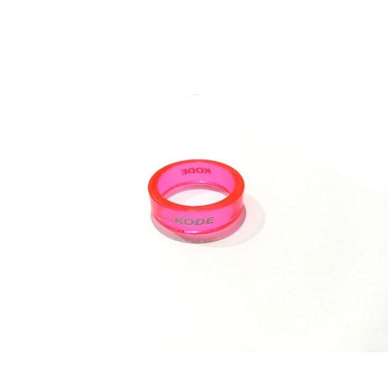anel-para-movimento-de-direcao-espacador-vermelho-rosa-transparente-kode-de-10mm