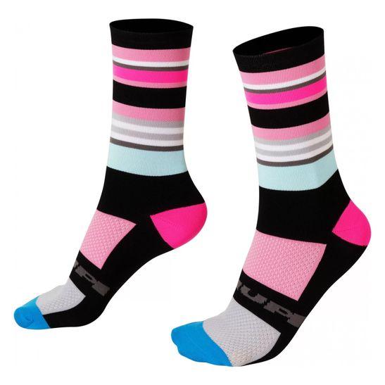 meia-hupi-modelo-quadra-cano-medio-colorida-rosa-com-preto-feminina-e-masculina-de-alta-qualidade