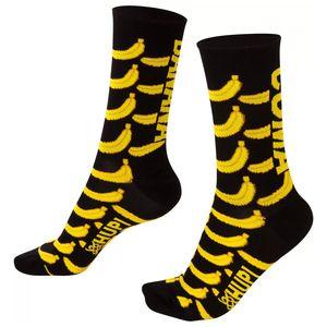 meia-bonita-cano-medio-marca-hupi-modelo-banana-preto-com-amarelo-coma-banana