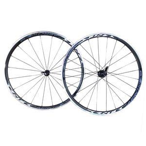 roda-para-bicicleta-speed-de-qualidade-sentec-aero-30-em-aluminio-rolamentada-na-cor-preta-preto-com-branco-com-blocagem
